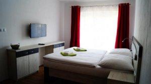 Hotel dvoulůžkový až čtyřlůžkový pokoj