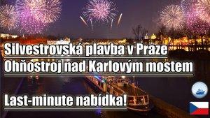 Silvestrovská párty na lodi v Praze
