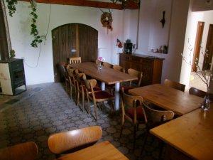 Společenská místnost pro 30 osob.