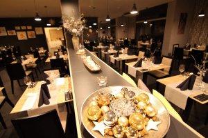 Silvestr v Amande restaurant