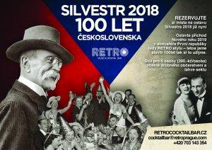 Silvestr 2018 v Retro Music & Cocktail baru