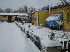 zima - ubytovna, restaurace
