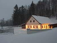 Silvestr na chatě Jeseníky