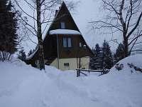 Silvestr na chatě Krušné hory